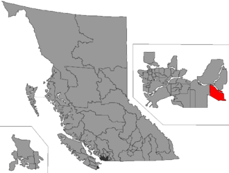 Abbotsford West - Image: BC 2015 Abbotsford West