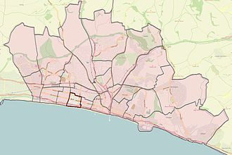 Brighton and Hove City Council election, 2011 - Central Hove highlighted
