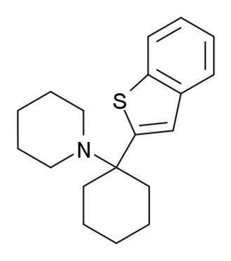 Benocyclidine - Image: BTCP structure