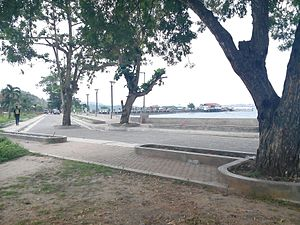 Samal, Davao del Norte - Baywalk in Babak District, Samal Island