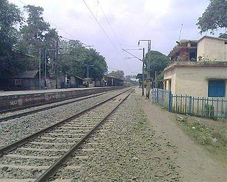Bagula - Image: Bagula Rilway Station