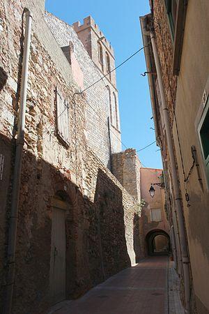 Baixas - An alley in Baixas