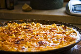 Macaroni and cheese - Baked macaroni and cheese