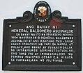 Baldomero Aguinaldo House Marker 1.jpg