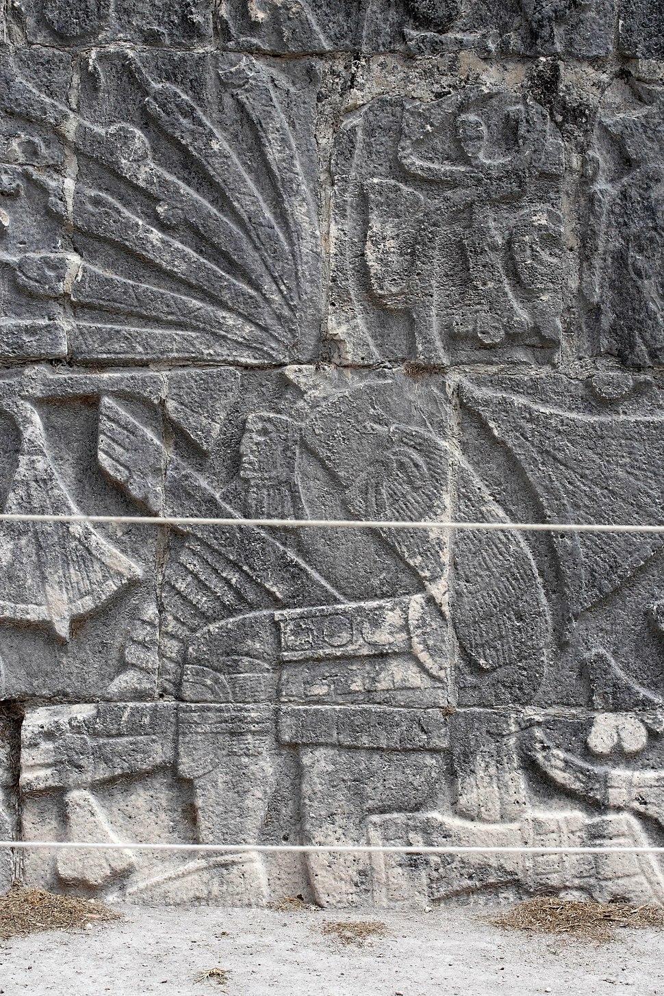 Ballgame sacrifice relief, Chichen Itza