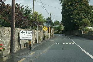 R702 road - R702 through Ballymurphy