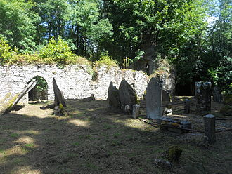 Castlemartyr - Ruins of Ballyoughtera church