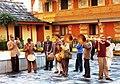 Band at the Royal Palace, Sarahan, HP, India.jpg