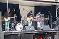 Band op Spijkenisse koningsdag 2015.jpg