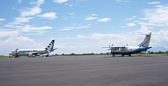 Xpress Air - Xpress Air planes at Sultan Babullah Airport