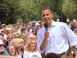 Barack Obama nel New Hampshire