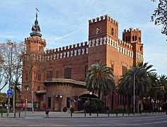 Barcelona - Castell dels Tres Dragons (2)
