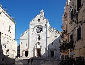 Bari Cathedral - Façade of Bari Cathedral