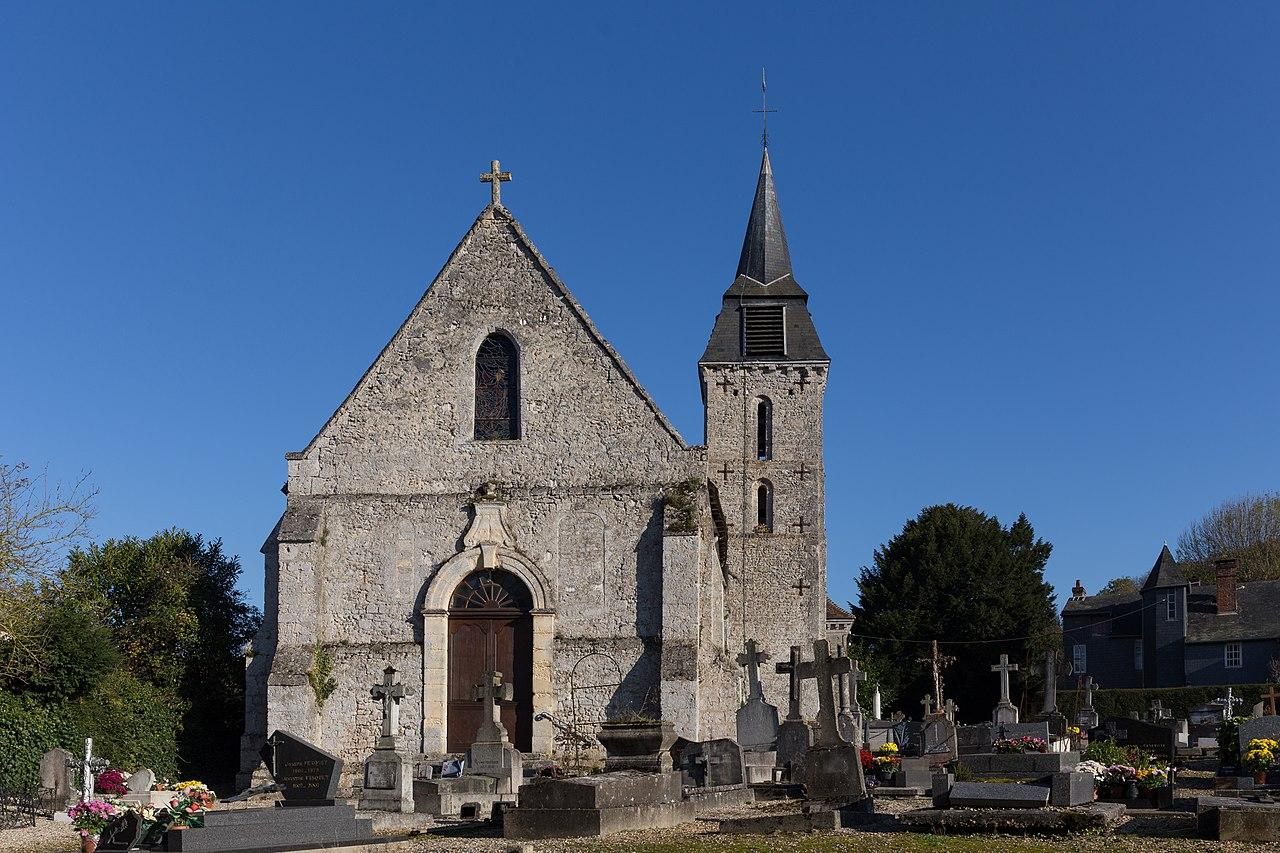 Barneville-la-Bertran - Église Saint-Jean-Baptiste 02.jpg