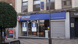 Barnsley Building Society - Barnsley Building Society, Wakefield.