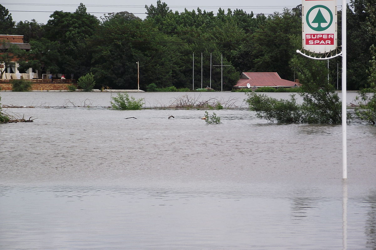 Наводнение в Южной Африке Википедия