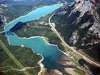Barrier Lake Kananaskis Aerial.jpg