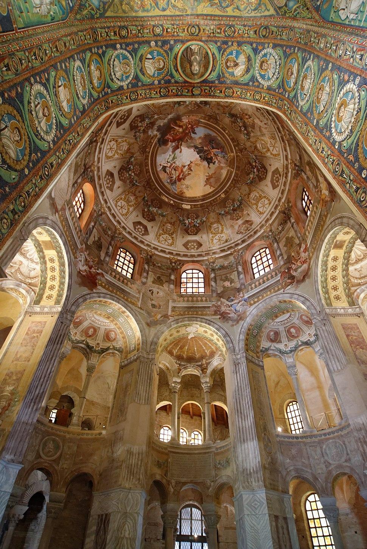 Basilica di San Vitale cupola 2