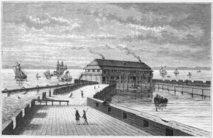 Prøvestenen, Copenhagen - The Prøvestenen Battery