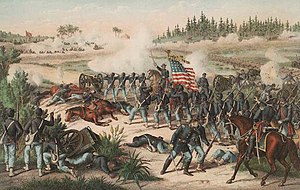 Florida in the American Civil War - The Battle of Olustee was the only major Civil War battle fought in Florida.