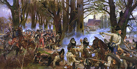 Battle of Raszyn 1809 by Wojciech Kossak.PNG