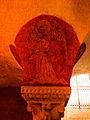 Bayeux (14) Cathédrale Crypte Ange musicien 16.JPG