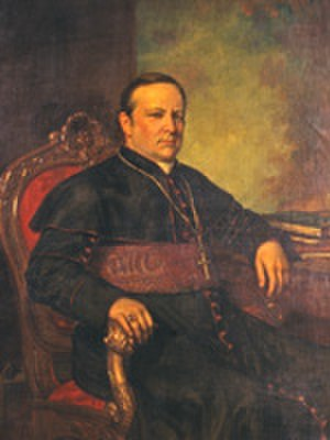 James Roosevelt Bayley - Archbishop Bayley portrait (circa 1876)