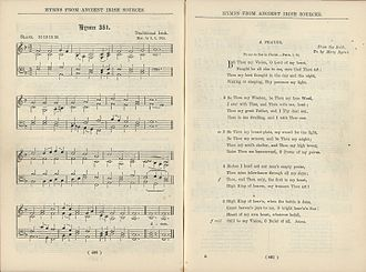 "Be Thou My Vision - First published setting of ""Be Thou My Vision"" to the traditional Irish tune ""Slane"" ca. 1919"