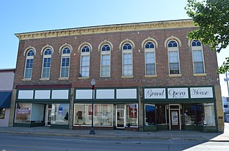 Beardstown, Illinois - The Beardstown Grand Opera House, a site on the National Register of Historic Places.