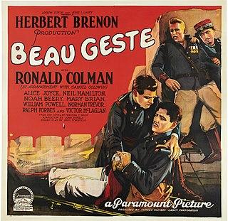 <i>Beau Geste</i> (1926 film) 1926 film