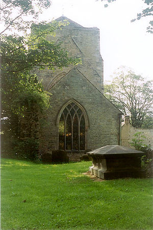 History of Sheffield - The remains of Beauchief Abbey.