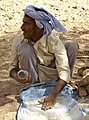 Bedouins making bread (cropped).jpg