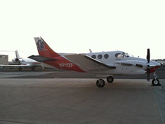 American Medical Response - Image: Beech C90B King Air operated by AMR Air Hawaii