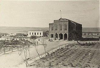 Battle of Beersheba (1917) - Beersheba Serai