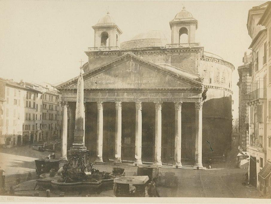 Behles, Edmond (1841-1924) - n. 1088 - Pantheon (Roma)