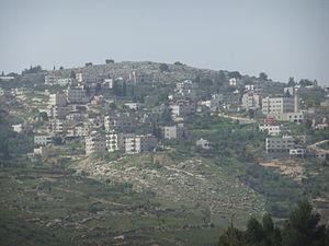 Beit Iksa - View of Beit Iksa, 2011