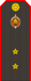 Belarus Police—12 Ensign rank insignia (Gunmetal).png