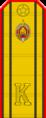 Belarus Police—21 Cadet-Master Sergeant rank insignia (Gunmetal).png