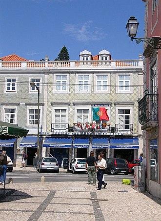 Pastel de nata - The Fábrica de Pastéis de Belém in Santa Maria de Belém.