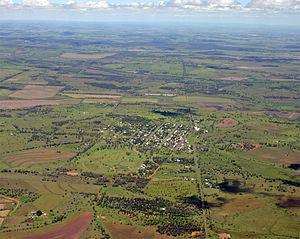 Darling Downs - Aerial view of Bell, 2010