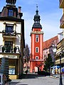 Bell tower of church of St. John the Baptist in Cieplice bk1.JPG
