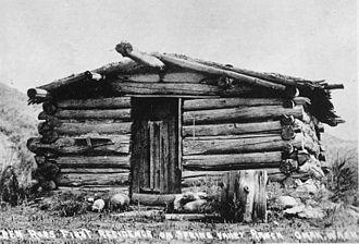 Omak, Washington - Ben Ross' cabin