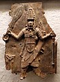 Benin, edo, rilievo con guerriero.jpg