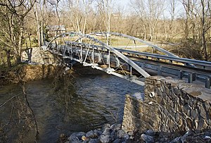 National Register of Historic Places listings in Frederick County, Maryland - Image: Bennies Hill Road Bridge 1