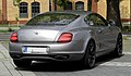 Bentley Continental Supersports – Heckansicht (2), 10. August 2011, Düsseldorf.jpg