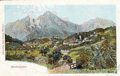 Berchtesgaden - Postcard