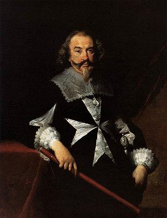Bernardo Strozzi - Portrait of a Maltese Knight