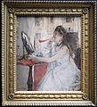 Berthe morisot, giovane donna che si impomata (donna alla toeletta), 1877.JPG