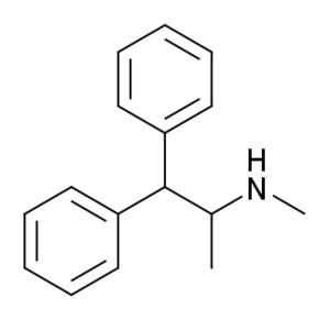 Beta-Phenylmethamphetamine - Image: Betaphenylmethamphet amine
