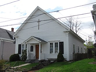 National Register of Historic Places listings in Plymouth County, Massachusetts - Image: Bethel African Methodist Episcopal Church, Plymouth MA